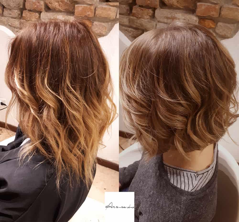 Taglio capelli bob