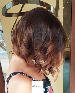 Light balayage su base castana